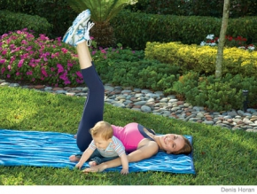 Mommy & Baby Exercises: ABC ABs