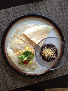 Easy Weeknight Meal: Shrimp Quesadilla with Tropical Salsa