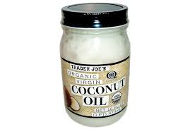 Coconut Oil- Courtesy of Trader Joes